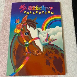 Vintage Lisa Frank My Sticker Collection Book